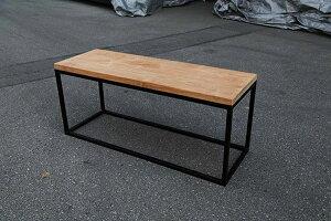 アイアンウッドキューブベンチ アイアン 木製 ガーデンチェアー ガーデンベンチ 長椅子 イス チェア チェアー 椅子 おしゃれ アンティーク モダン レトロ
