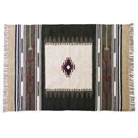 キリムラグ ラグマット 130x190cm コットン 綿 フロアマット 柄 ラグ マット カーペット じゅうたん 絨毯 センターラグ リビングラグ シンプル おしゃれ 北欧 高級感