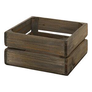 送料無料 6個セット 木製ボックス スクエア L ペン立て リモコンスタンド スマホスタンド 小物入れ 収納ボックス デスク収納 机上 卓上 雑貨 リビング インテリア シンプル 西海岸 男前イン