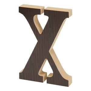 送料無料 12個セット 木製アルファベット X 英文字 ウォールデコ 看板文字 サインプレート インテリア 置物 オブジェ ディスプレイ 雑貨 おしゃれ