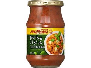 カゴメ アンナマンマ トマト&バジル 瓶 330g x6 *