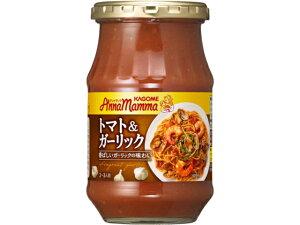 カゴメ アンナマンマ トマト&ガーリック 瓶 330g x6 *