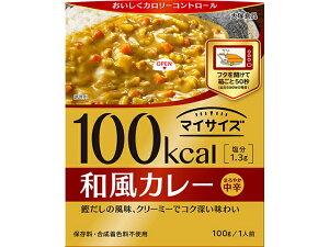 大塚食品 マイサイズ 和風カレー 100g x10 *