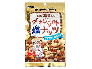 稲葉ピーナツ クレイジーソルトナッツ 72g x10 *