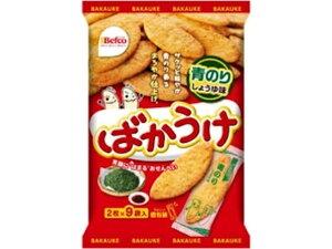 栗山米菓 ばかうけ青のり 18枚 x12 *