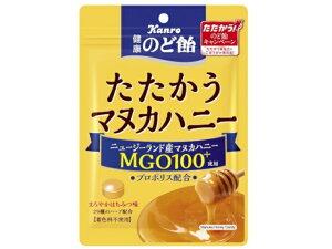 カンロ 健康のど飴 たたかうマヌカハニー 80g x6 *