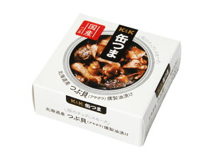 K&K 缶つま 北海道産 つぶ貝燻製油漬け 35g x6 *