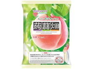 マンナンライフ 蒟蒻畑 白桃味 25gx12個 x12 *
