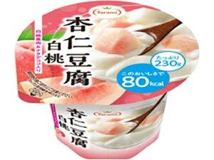 たらみ 杏仁豆腐白桃 80kcal カップ 230g x6 *