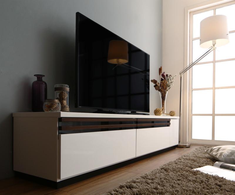 【送料無料】 テレビ台 幅180cm 国産 完成品 ローボード 60V型対応 デザインテレビボード Willy ウィリー テレビラック 木製 白 ホワイト ブラウン ナチュラル モダン 北欧 500033604