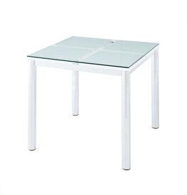 (送料無料) ガラスダイニングテーブル テーブル単品 ガラステーブル 強化ガラス ダイニングテーブル ガラスデザインダイニング -ディ・モデラ/テーブル 幅80cm- 食卓テーブル モダン シンプル 家具通販 新生活 敬老の日