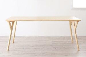 (送料無料) ダイニングテーブル単品 幅170cm 北欧デザイン ワイドダイニング 4人用 テーブル オレロ つくえ 机 作業台 食卓テーブル 木製テーブル 天然木 木目 ひとり暮らし ワンルーム シンプ