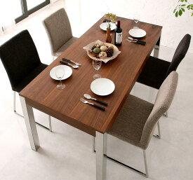 (送料無料) テーブルセット ダイニングテーブル5点セット 食卓テーブル ダイニングテーブル テーブル -グラニータ/ダイニングテーブル5点セット (テーブル幅160cm チェア4脚)- スチール脚 モダン 家具通販 新生活 敬老の日