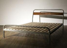 (送料無料) パイプベッド ベッドフレームのみ セミダブルベッド ディペレス すのこベッド セミダブル スチールベッド ベッド すのこべット パイプベット 金属製 西海岸 ブルックリン 省スペース