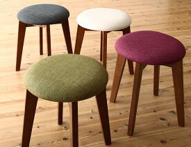 (送料無料) スツールのみ ブラウン 1P コンパクトダイニング idea イデア 木製 食卓椅子 アイボリー ブラウン ライトグレー ブルー レッド