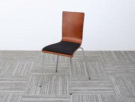 (送料無料) オフィスチェア 1脚 CURAT キュレート スタッキングチェアー オフィスチェアー スタッキングチェア パソコンチェア 椅子 イス いす スチール ブラック オレンジ グリーン