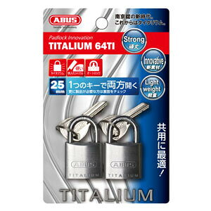 【ケース特価5個セット】タイタリウム 64TIシリーズ ブリスターパック 25KA 2個入 BP-64TI/25KA