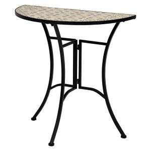 送料無料 テーブル ガーデンテーブル カフェテーブル ガーデンファニチャー 机 つくえ おしゃれ テラス ベランダ LT-4390