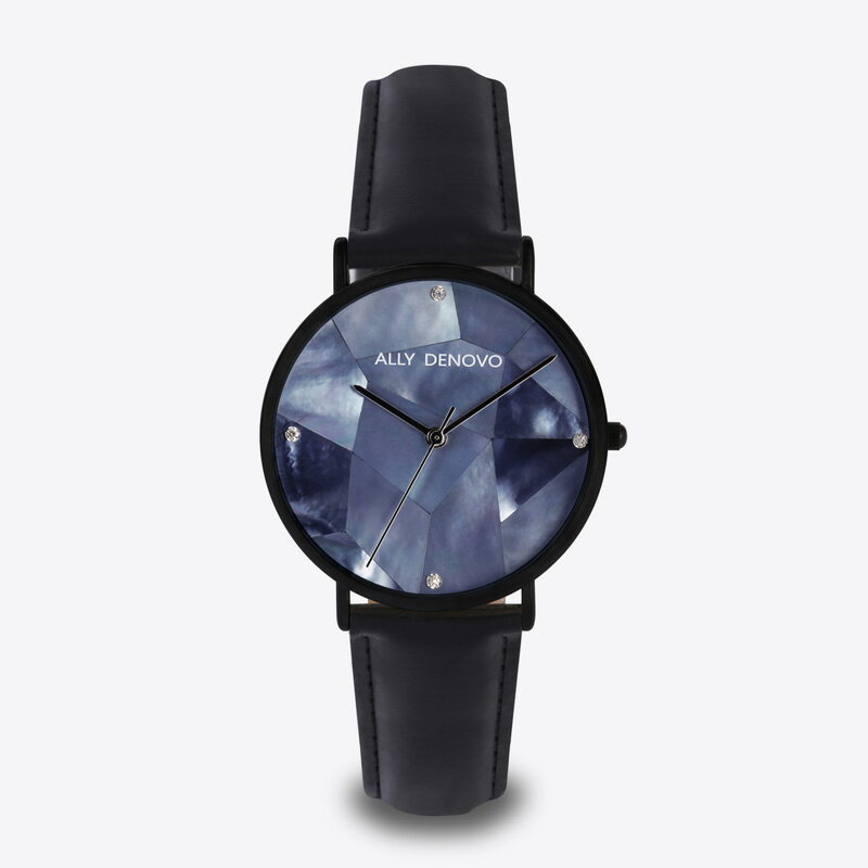 ALLY DENOVO アリーデノヴォ AF5003-5 Gaia Pearl ガイアパール 腕時計 レディース プレゼント