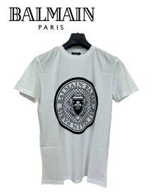 大特価 SALE セール BALMAIN PARIS バルマン 12448 メンズ ブランド 白 Tシャツ