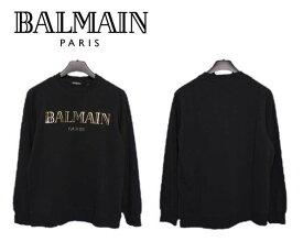 大特価 バルマン BALMAIN PARIS 8253 ブランド トレーナー スウェット 長袖 メンズ