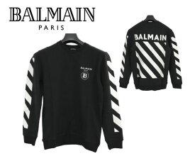 大特価 バルマン BALMAIN PARIS 8571 トレーナー スウェット 長袖 メンズ