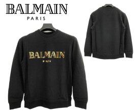 大特価 バルマン BALMAIN PARIS 8254 ロンT 薄手トレーナー スウェット 長袖 メンズ