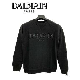 大特価 バルマン BALMAIN PARIS 8268 ロンT 薄手トレーナー スウェット 長袖 メンズ