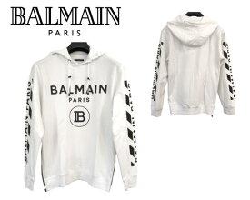 大特価 バルマン BALMAIN PARIS 8485 パーカー トレーナー スウェット 長袖 メンズ