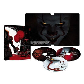 "IT/イット THE END ""それ""が見えたら、終わり。 スチールブック仕様 4K ULTRA HD&ブルーレイセット (限定生産/3枚組/ボーナス・ディスク付) [Blu-ray]"