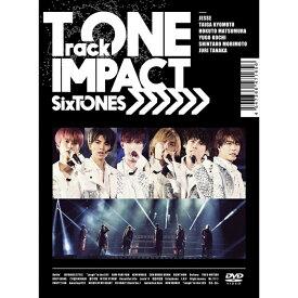 SixTONES TrackONE IMPACT 初回限定盤 DVD キャンセル不可