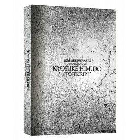 """氷室京介 60TH ANNIVERSARY「DOCUMENT OF KYOSUKE HIMURO""""POSTSCRIPT""""」Blu-ray BOX 完全受注生産 Blu−ray 送料無料 プレミア価格 キャンセル不可"""