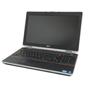 中古パソコン DELL Latitude E6520 Windows7 Pro Core i7 2.7GHz 4GB 320GB DVD-RW リカバリディスク 【無線LAN 内蔵】【訳あり中古】【ノート】