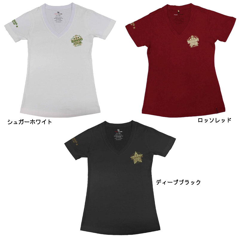 ROSSO ROK-201Tシャツ MILITARY STAR