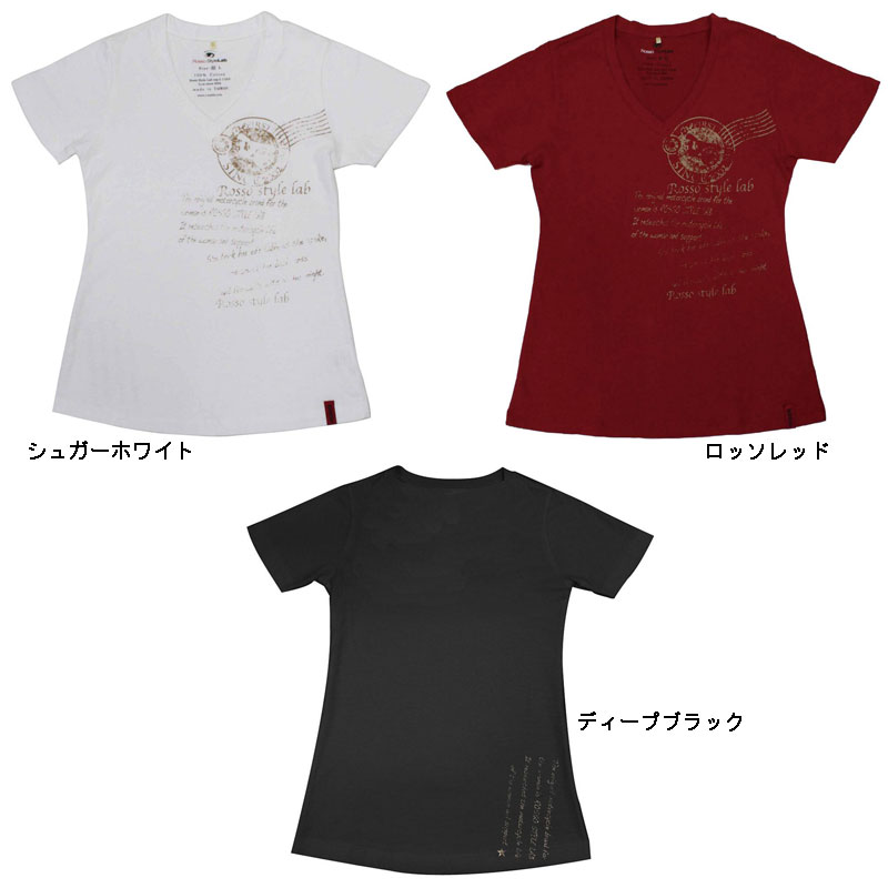 ROSSO ROK-202Tシャツ LETTER