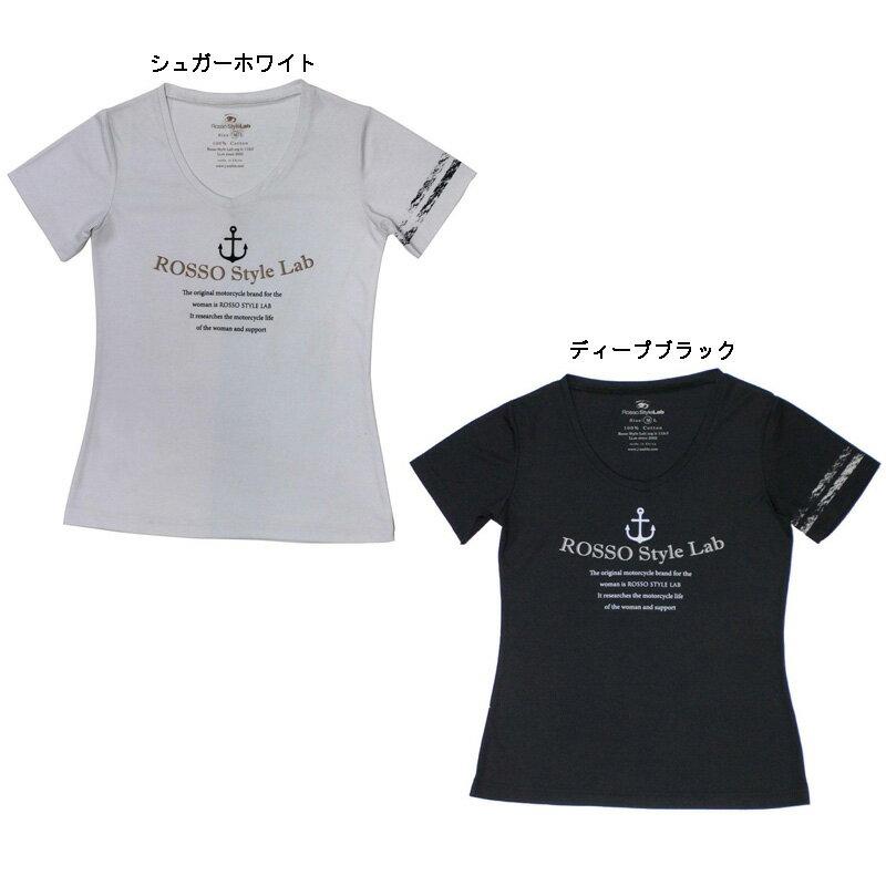 ROSSO ROK-204UVカットTシャツ MARINE