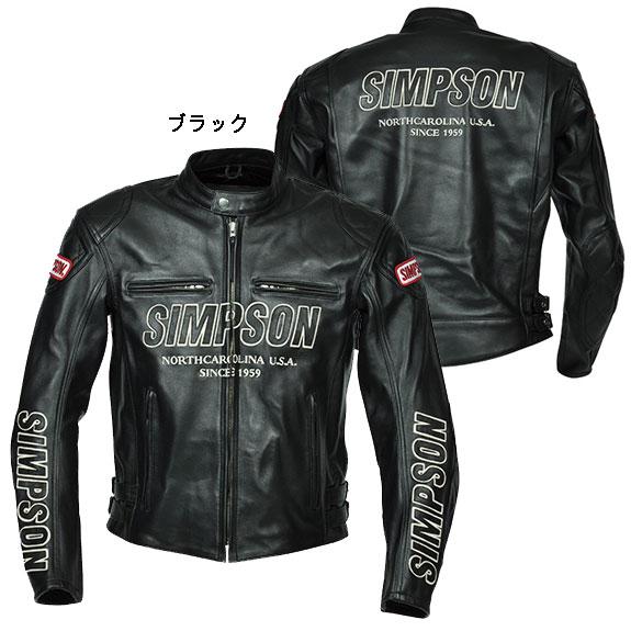 シンプソン SLJ-3111レザージャケット