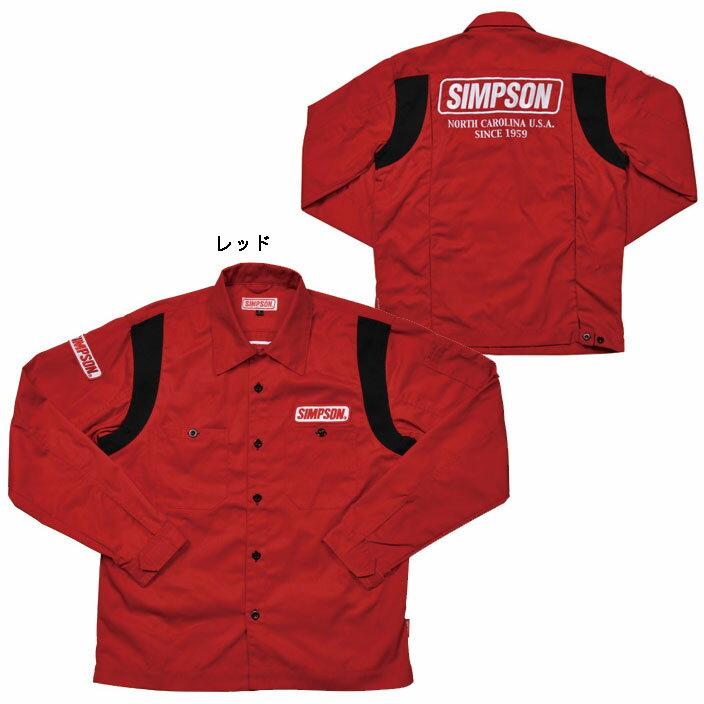 シンプソン MSH-013メカニックシャツ