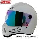 シンプソン M30 MODEL30復刻版SIMPSON MODEL30 フルフェイスヘルメット