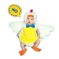 ベビー赤ちゃん服男の子女の子着ぐるみ鳥酉鶏にわとりニワトリniwatori酉年干支年賀状誕生日誕生日ギフトプレゼントハロウィン寝相アート売れ筋10P27May160601楽天カード分割