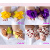 Baby clothes baby clothing accessories anklet feet ornament accessory flower flowers 19 different selling