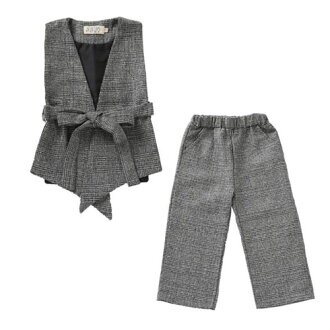 The outing that child setup best underwear pants casual Shin pull fashion of the kids Jr. child woman shows cute