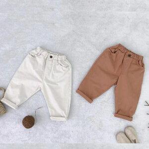 キッズ ジュニア 子供 男の子 ズボン パンツ 半ズボン ハーフパンツ ボトムス 夏 シンプル 無地 カジュアル