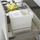 山崎実業 タワー 密閉 袋ごと 米びつ 5kg 計量カップ付き ホワイト 3375