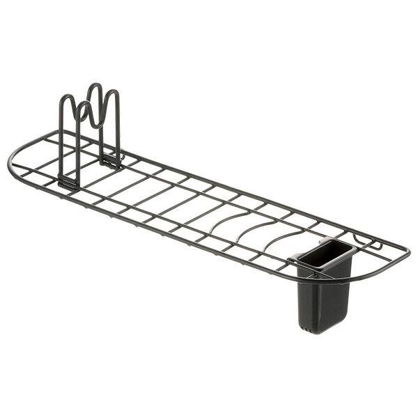Lacour 水切りラック シンクドレイナー スリム ダークグレー 22462-5