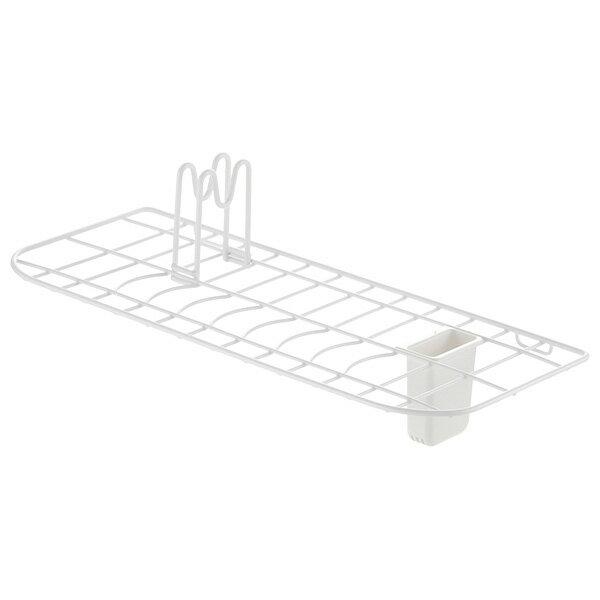 Lacour 水切りラック シンクドレイナー ワイド ホワイト 22471-7