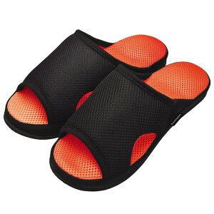 健康サンダル ガチ押し 健康ルームサンダル メンズふみっぱ フリーサイズ オレンジ AP-507901 | 足つぼ スリッパ 健康スリッパ おしゃれ