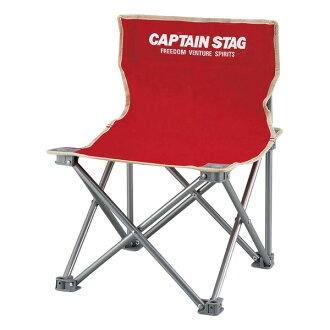 船长标签(CAPTAIN STAG)调色板小型椅子小红M-3919