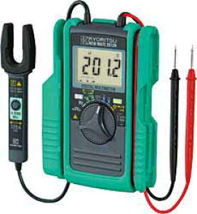 (最大400円OFFクーポン有)(送料無料)共立電気計器 KYORITSU 2012RA AC/DCクランプ付デジタルマルチメータ(2012Rの後継品)