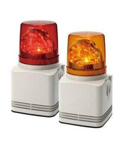 (キャッシュレス5%還元)パトライト PATLITE RFT-100A-Y 電子音内蔵LED回転灯 黄